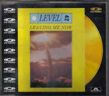 Level 42-Leaving Me Now cd video maxi single