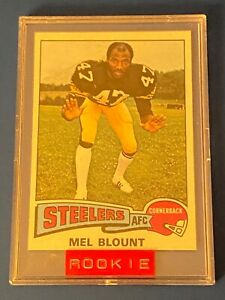 1975 Topps #12 Mel Blount RC Mint Sharp Corners and Great Centering PSA 9 or 10?