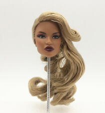 Fashion Royalty Dominique Makeda latino skin integrity doll head for repaint