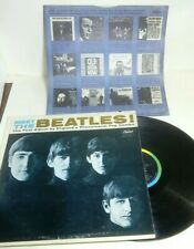 """MEET THE BEATLES"" LP RARE 1-BMI CREDIT SCRANTON CAPITAL PRESSED FEB 1964 T-2047"