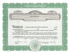 Omega Press, Inc > 1983 old stock certificate share