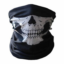 Outdoor Sport Bicycle Ski Skull Half Face Mask Ghost Scarf Neck Warmer Multi Use