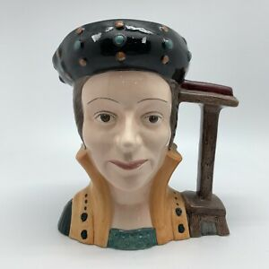 ROYAL DOULTON - Catherine Parr D6664 Large Character Jug