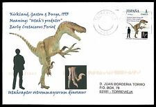 Spain dinosaur dinosaure dinosaurios-Custom Stamp-only 5 cover Made!!! cg62