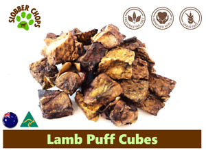 3kg(1 Carton) LAMB LUNG PUFF NATURAL HEALTHY LOW FAT QUICK TREAT FOR DOGS & CATS