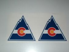 NHL COLORADO ROCKIES FULL SIZE DECALS