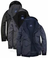 Uneek Premium Men's Outdoor Jacket Waterproof Coat - Micro Fleece Lining (UC620)