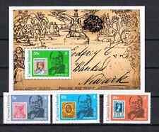 Kaiman Inseln 1979 Satz 430/32 + Block 13 Sir Rowland Hill Postfrisch