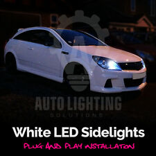 Vauxhall Astra H 2005-2010 VXR Bright Xenon White LED Sidelight Bulbs Error Free