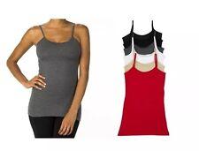 Classic Body Shirt Women's Lycra Cami Tank Very Nice & Comfortable Grey Large