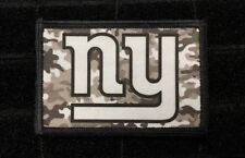 New York Giants Camo Morale Patch Tactical Military Army Flag USA Hook