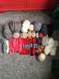 XX Blue Alpaca Wool Hand Spun Wstd Weight Yarn 50 Yds Knit Crochet Weave