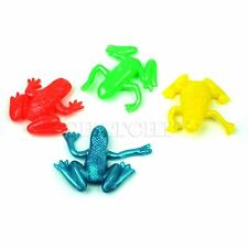 24pcs Stretchy Frog Assorted Colour Kids Birthday Party Bag Filler Novelty