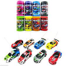 Coke Can Mini Radio Remote Control Micro Racing Car Toy Kid Color Random