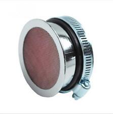 Filtre à air cornet chromé plat Replay mobylette carburateur Dellorto SHA Neuf