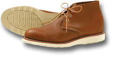 RED WING SHOES 3140 BOOTS, BROWN LEATHER WORK / CASUAL BOOT [72205]