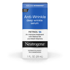 Neutrogena Anti-Aging Retinol Face Serum 1 FL OZ NIB