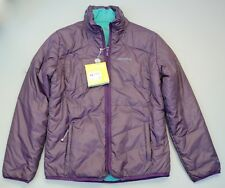 Craghoppers Climaplus reversible quilted jacket purple blue 12 BNWT RRP £84.99