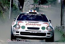 Didier Auriol Toyota Celica GT-Four ST205 Tour De Corse Rally 1995 Photograph