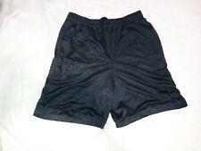 """Athletic Shorts Mens Vtg polyester basketball Gym sports 32"""" Small Grey star"""