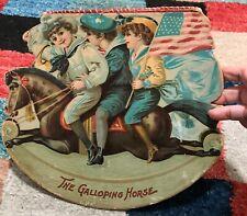 The Galloping Horse - 1895 original - Koerner and Hayes