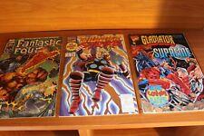 Marvel Comics Gladiator Supreme Thunder Strike and Fantastic Four