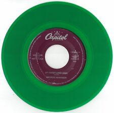 Beatles George Harrrison 45 single COLORED Vinyl Green - (2000) My Sweet Lord