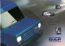Leyland Daf 200 & 400 Series 1991-92 UK Market Sales Brochure Sherpa