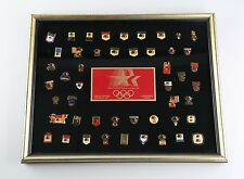 1984 Olympic Pin Set Limited Edition Sponsor Set Corporate Issue Los Angeles