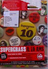 2DVD SUPERGRASS A 10 ANS - THE BEST OF 94-04 - NEUF