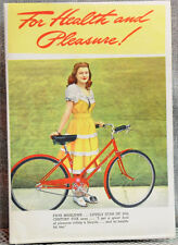 Schwinn bicycle advertising lit. featuring Sinatra, Crosby, Wyman, & other stars
