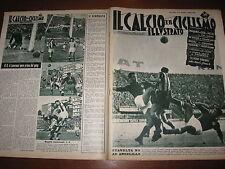 IL CALCIO E CICLISMO ILLUSTRATO 1958/43 FIORENTINA INTER GENOA BARI ROMA JUVE @