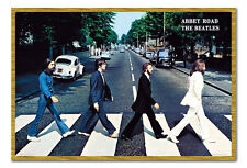 THE Beatles Abbey Road POSTER Incorniciato Wall Art Print PICTURE Small Medium Large