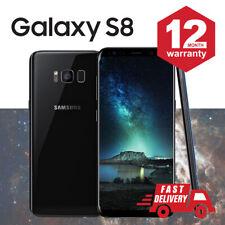 SAMSUNG GALAXY S8 64GB Android Cellulare Sbloccato 4G SIM Nero Mezzanotte