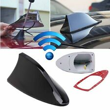 Car SUV Auto Roof Radio AM/FM Signal Shark Fin Aerial Antenna Replacement BLACK