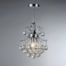 Warehouse of Tiffany RL2198 Cyan 3-Light Crystal Chandelier