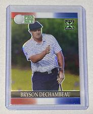 Bryson Dechambeau Leaf Pro Set XRC Red White Blue Prismatic Chrome /10 Golf RC