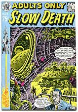 Slow Death 6, Fn/Vf, Jack Jaxon, 1st, 1974, Underground, more Ug in store