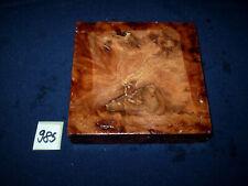Rüster Maser Ulmenmaser   125 x 125 x 31 mm      Nr: 985