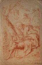 Unbekannter Künstler - Johannes der Evangelist - Rötelzeichnung - o.J.