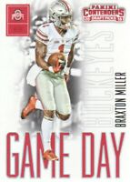 2016 Panini Contenders Draft Picks Game Day Tickets #38 Braxton Miller Ohio St.