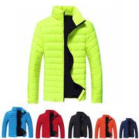 LC_ homme mode hiver chaud veste doudoune col montant fin fermeture éclair