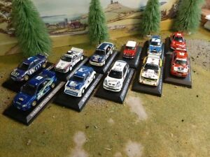 DeAgostini Rally Car Collection Multi-Listing