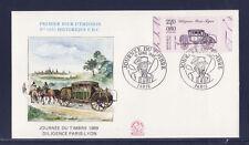 enveloppe 1er jour  journée du timbre  Paris   de carnet bdf 1989