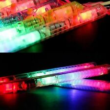 Glow Sticks - 6 x Pink LED Glow Stick Flashing for Concert, Party, Rave - 21cm.