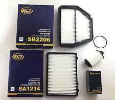 Filter Set SCT Germany Ölfilter Luftfilter Innenraumfilter Opel Antara 2.2 CDTI