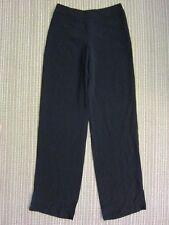 GIORGIO ARMANI 100% Silk Women'S Trouser NEW HAP05T-0A101-999 $4525 Black SIZE38