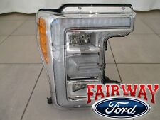 17 thru 18 Super Duty F-250 F-350 OEM Ford LED Head Lamp Light RH Passenger NEW
