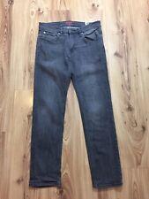 Ben Sherman The Original Mens Grey Brighton Slim Fit Denim Jeans 32W L32
