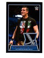 WWE Alberto Del Rio 2014 Topps Road To WrestleMania Event Used Relic Card 3Color